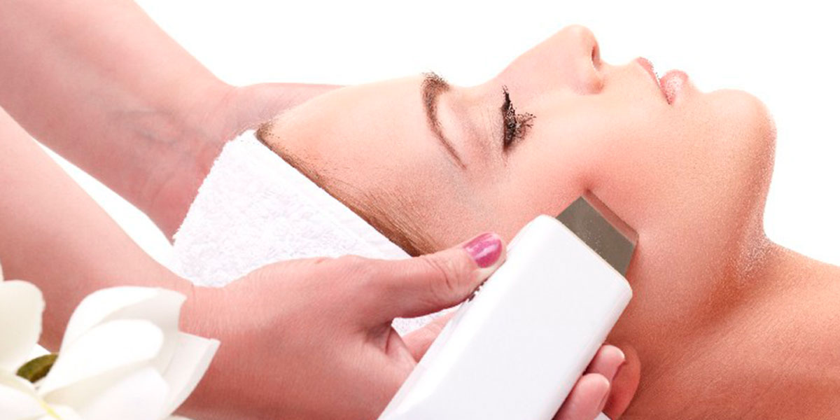 Ultrasonido facial + peeling ultrasónico